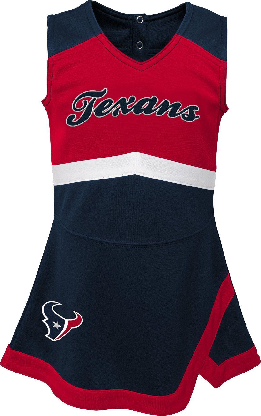 e86af9b5 NFL Team Apparel Toddler Houston Texans Cheer Jumper Dress in 2019 ...
