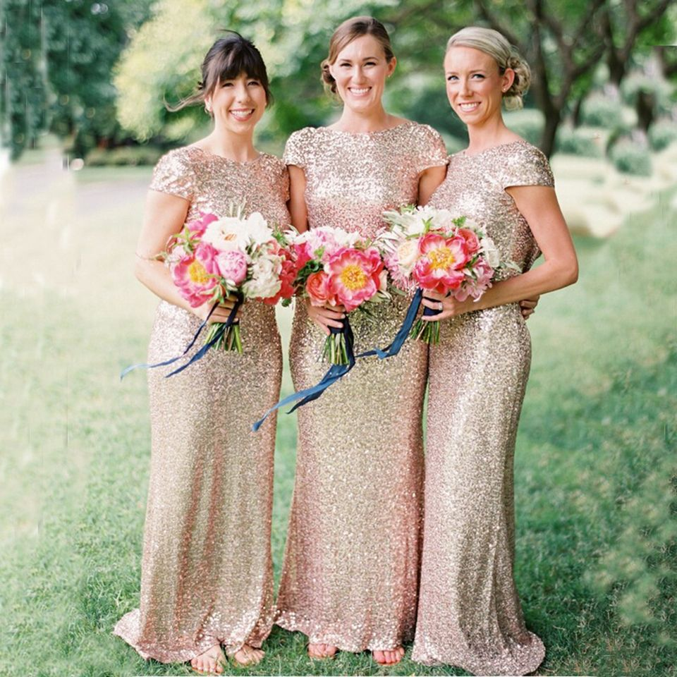 Find a sparkly mermaid gold bridesmaid dresses long sequin find a sparkly mermaid gold bridesmaid dresses long sequin bridesmaid dress with sleeves women bridesmaid gowns ombrellifo Images