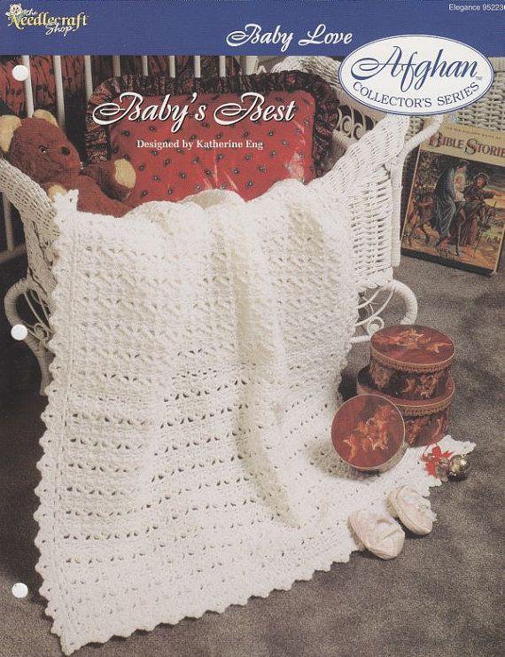 Baby\'s Best Baby Afghan Crochet Pattern - Christening Blanket