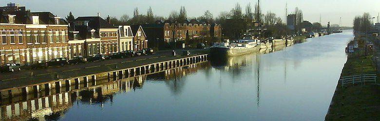 Groningen. Emmakanaal, Groningen, Netherlands