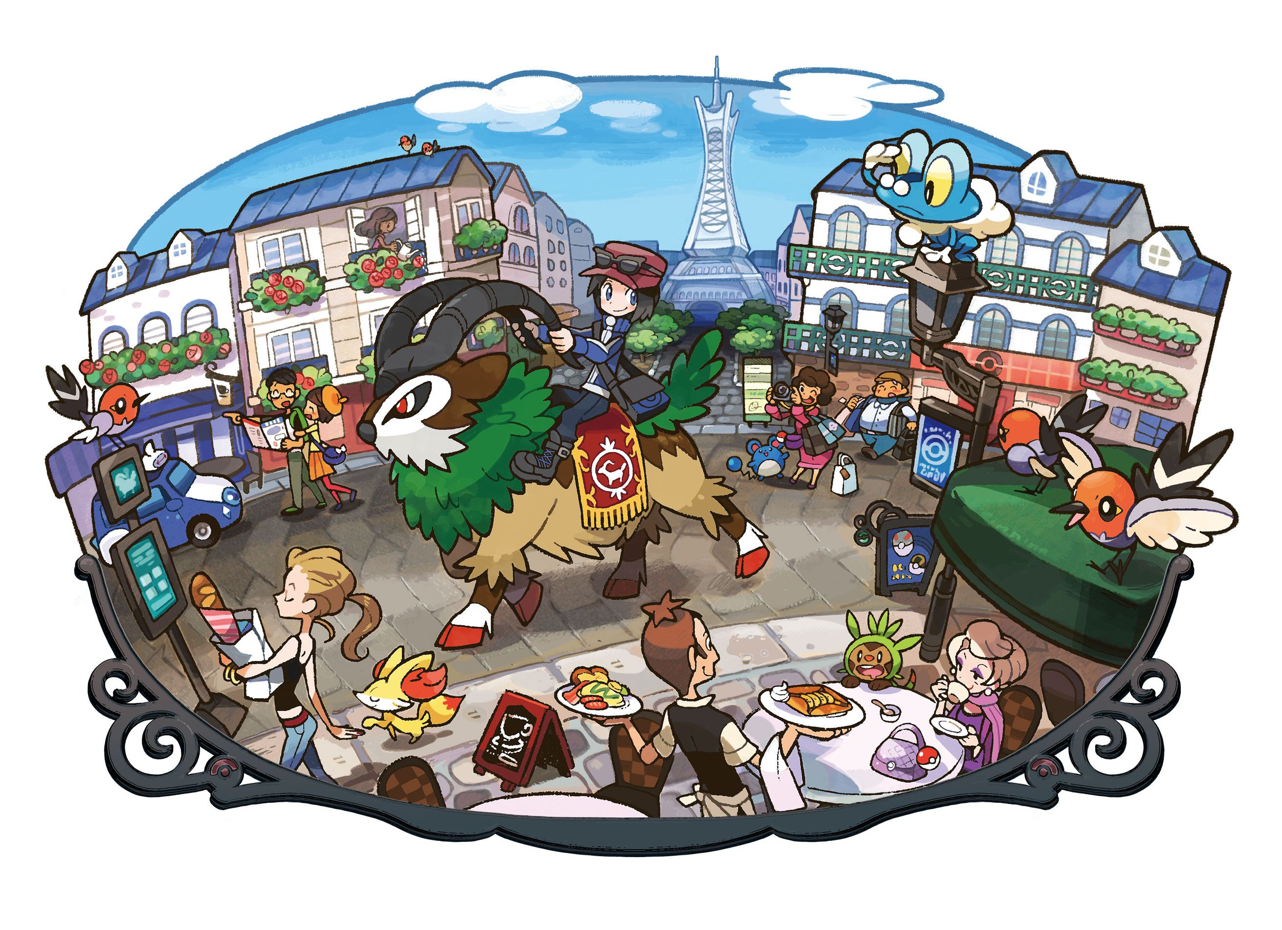 all xy pokemon
