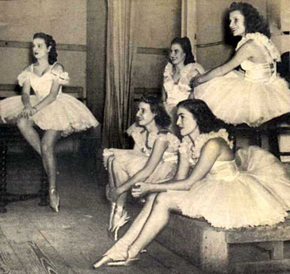 Spinner's Ballerina Page