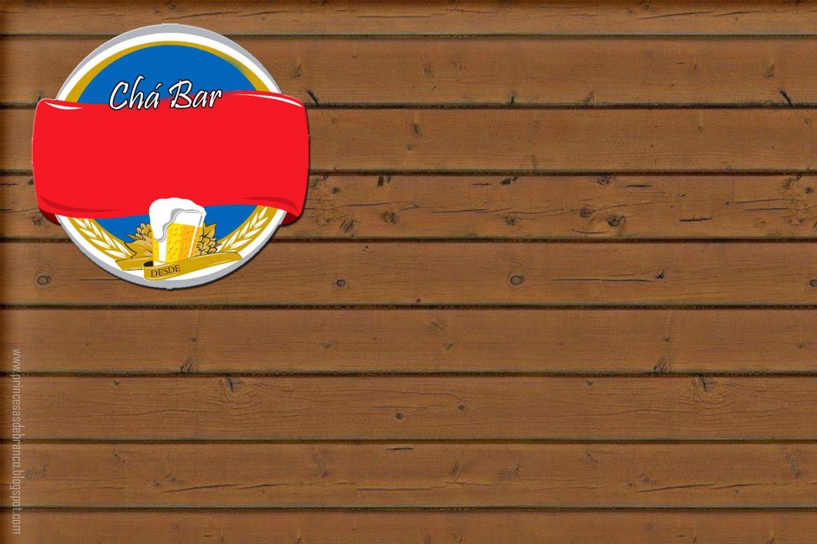 Kit Festa Cha Bar Para Imprimir Gratis Cha Bar Convite Cha Bar