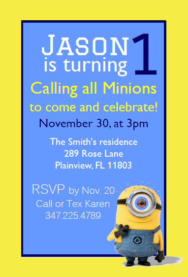 Minions Instant Download Editable By Celebrateboutique Minion Invitation Templates Cards