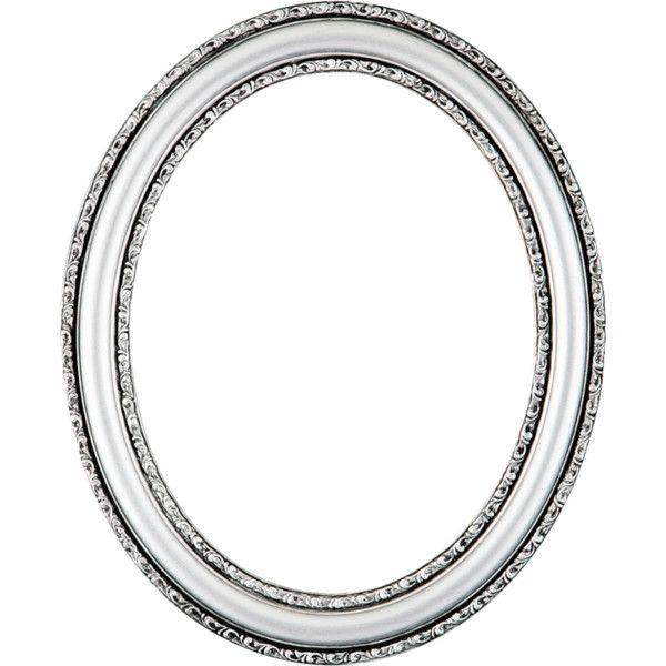 Fl Ftm Frame 17 Oval Silver 3 Png