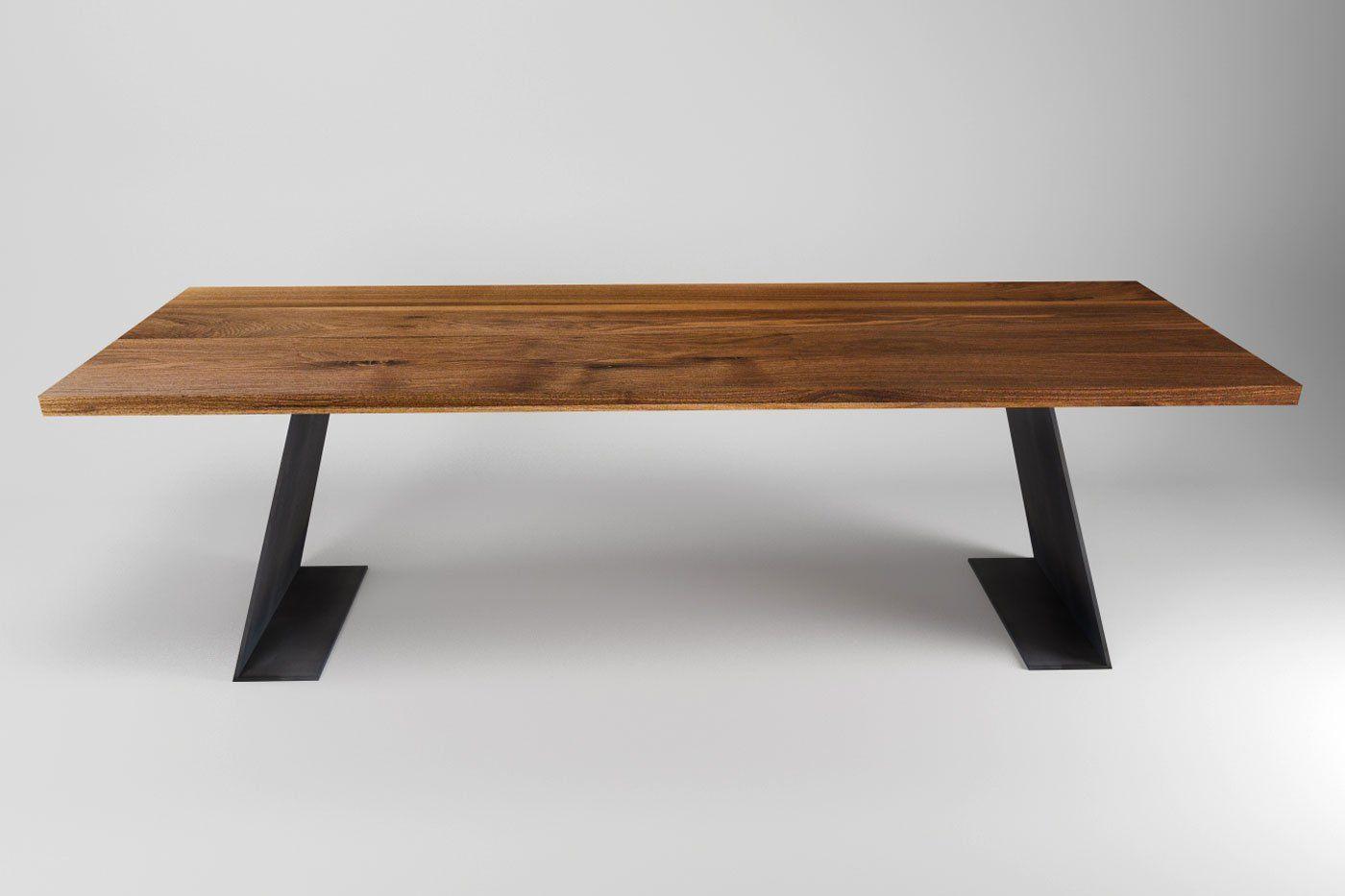 Nussbaum Tisch Farum Modern Nach Mass Wohnsektion Nussbaum Tisch Tisch Esstisch Design
