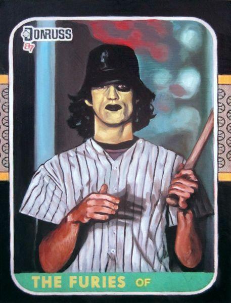 Baseball Furies Baseball Card Baseball Warriors Warrior Movie Movie Artwork The Warriors Baseball Furies
