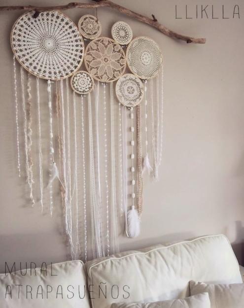 Pin de noemi suarez en crochet carpetas cortinas e ideas - Donde colocar un atrapasuenos ...