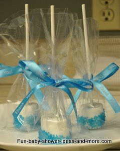 Home Made Babyshower Candy