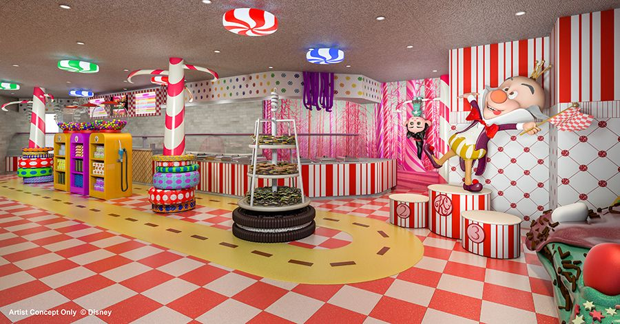 New Candy And Sweets Shop To Be Part Of The Disney Magic - The dream cruise ship disney