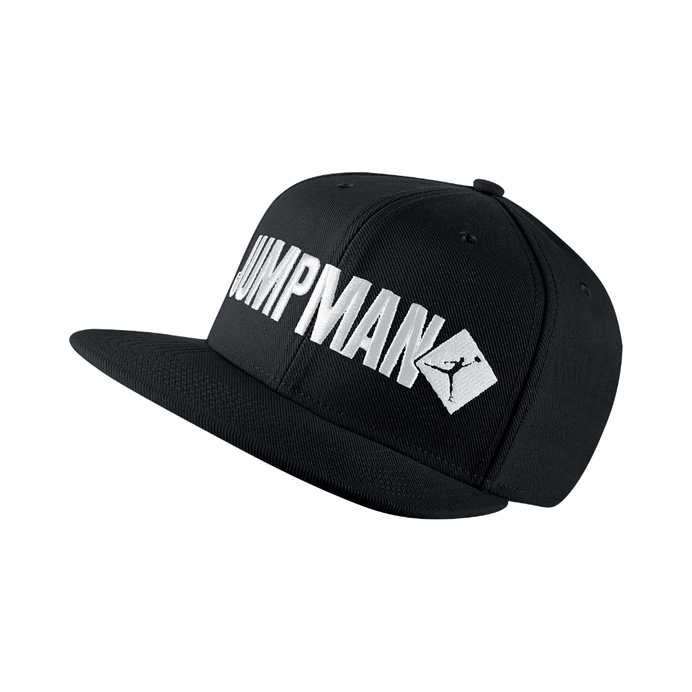 super popular 9cd3d 1bdc5 Jordan Jumpman Script Adjustable Hat, by Nike (Black) - Clearance Sale  Black Nikes