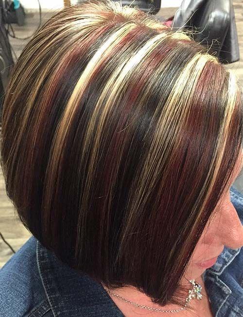 30 Best Highlight Ideas For Dark Brown Hair Brown Blonde