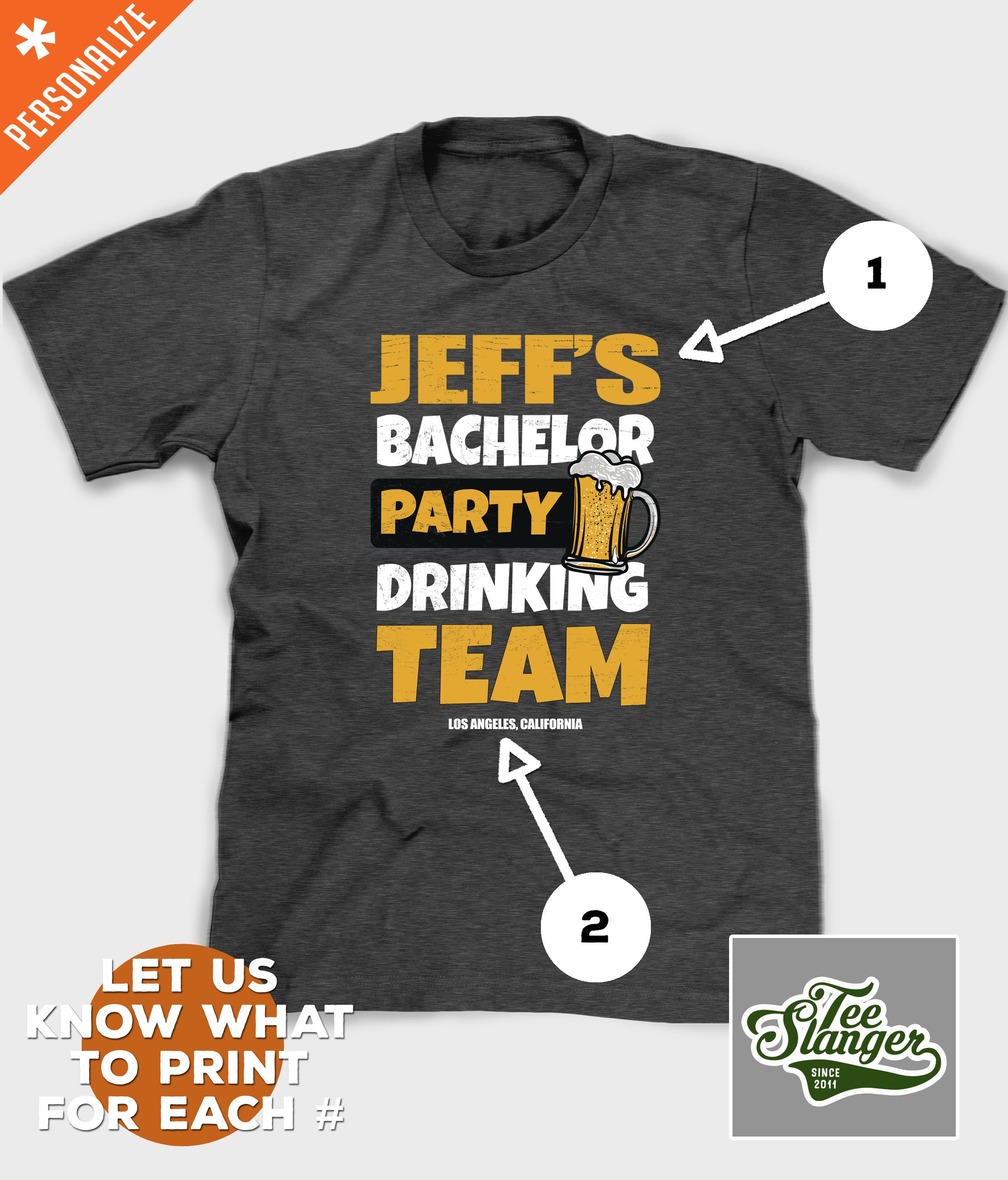 5d0e6c258 PERSONALIZED BACHELOR PARTY DRINKING TEAM t-shirt We SHIP FREE everyday,  all day. #bachelorparty #bachelors #weddingparty