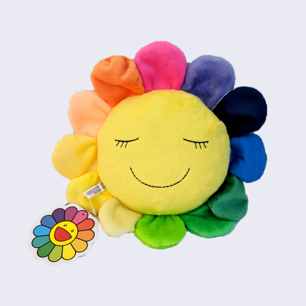 Takashi Murakami Kutakuta Rainbow Flower Plush in 2020