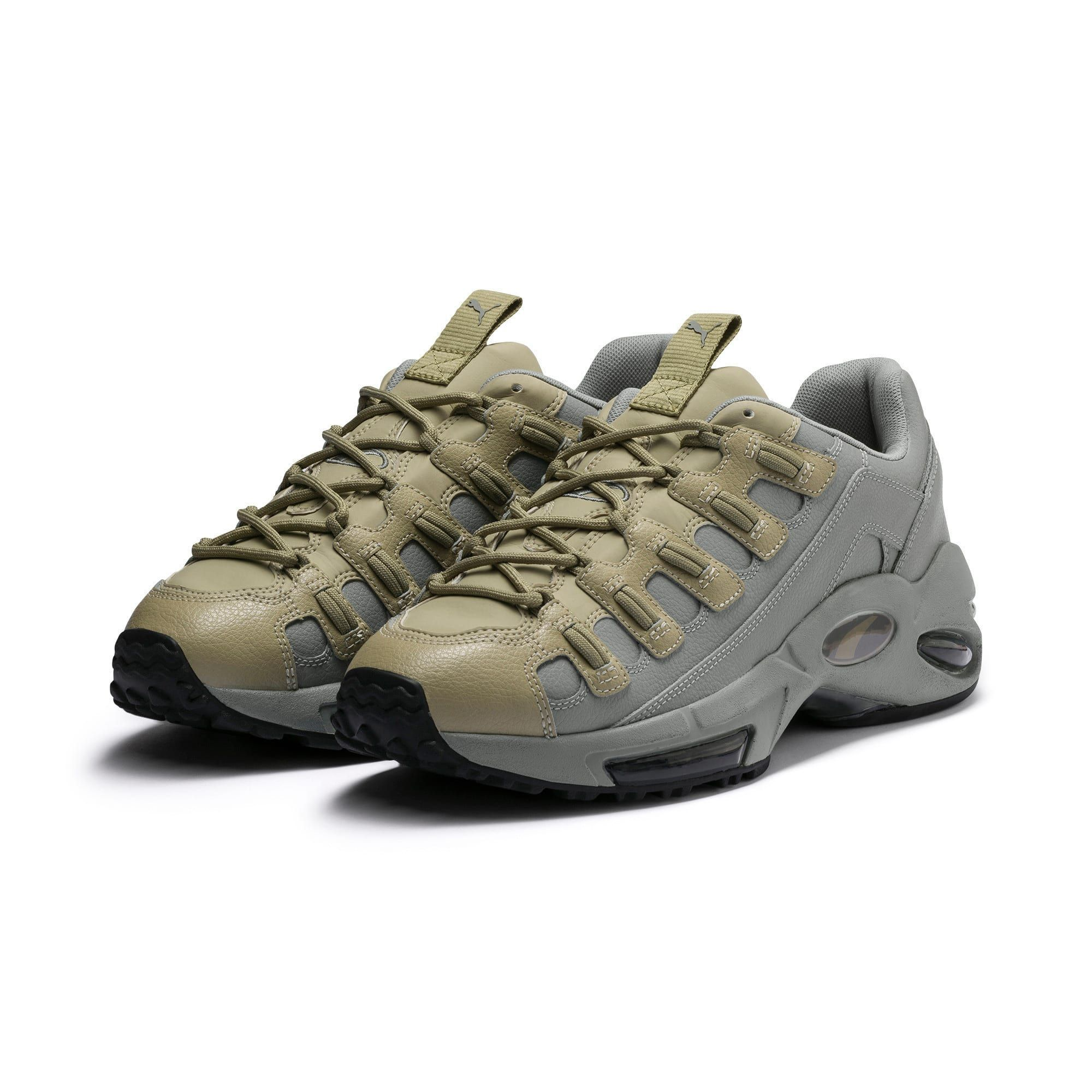 PUMA Chaussure Basket Cell Endura Front Dupla pour Homme Vert ...