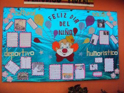 Periodico mural mes de abril 9 decoraci n de clase for Diario el mural de jalisco