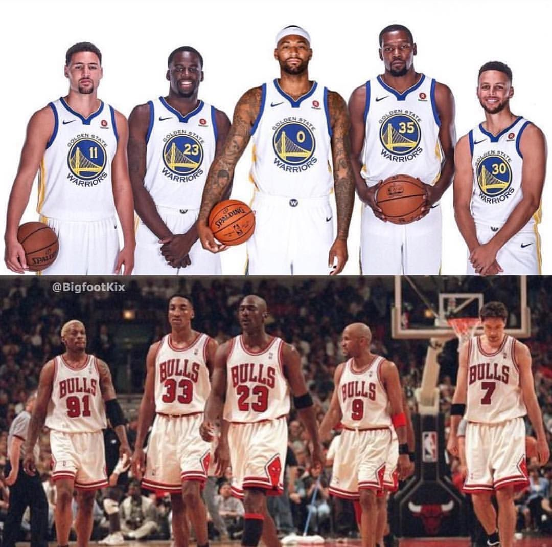 Warriors New Stadium Status: 2019 Golden State Warriors Vs The 1996 Chicago Bulls. Who