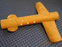 Kid S Frugal Craft Paper Towel Roll Airplane Toilet Paper