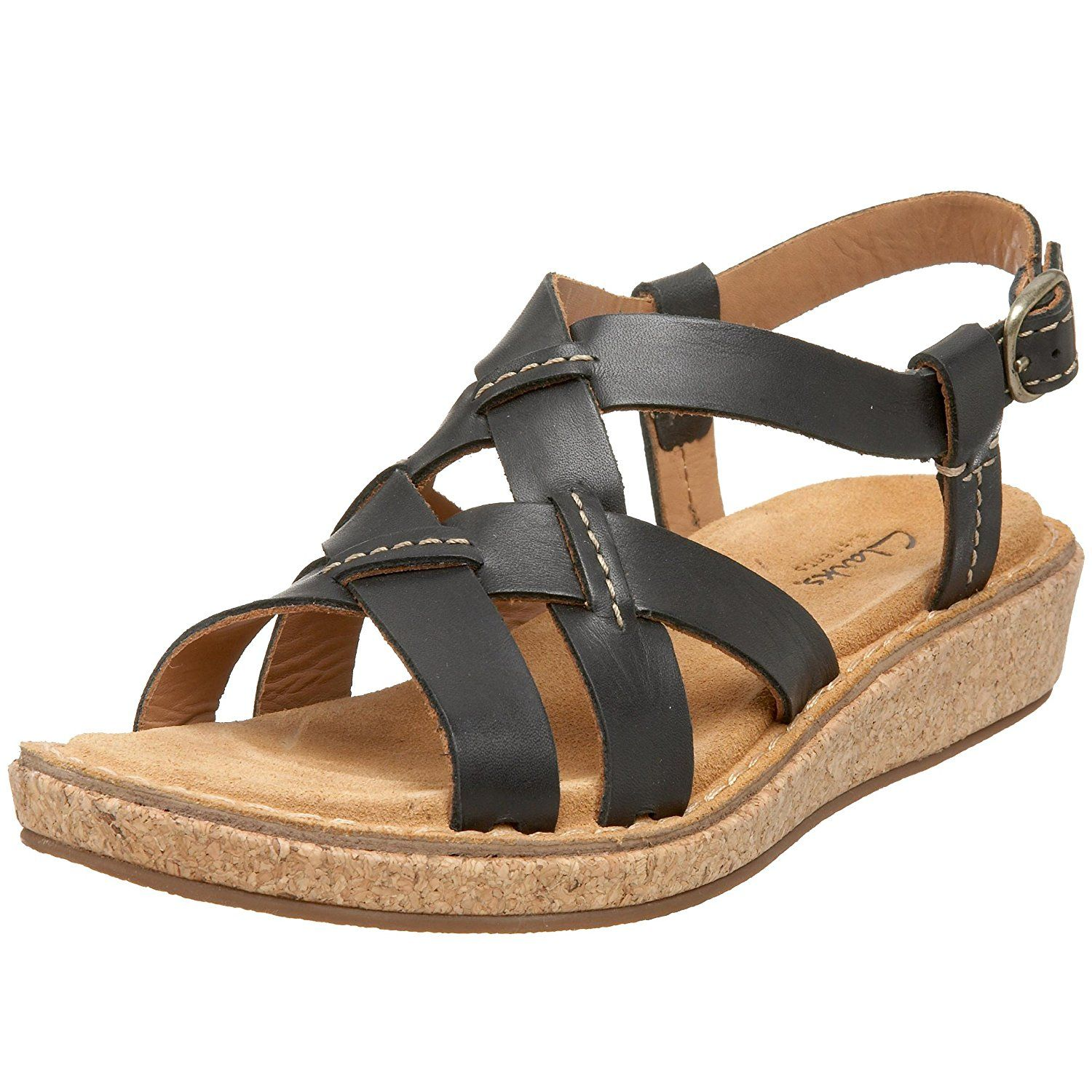 Seguro zoo fuerte  Clarks Women's Eastham Woven Sandal *** Insider's special review ...