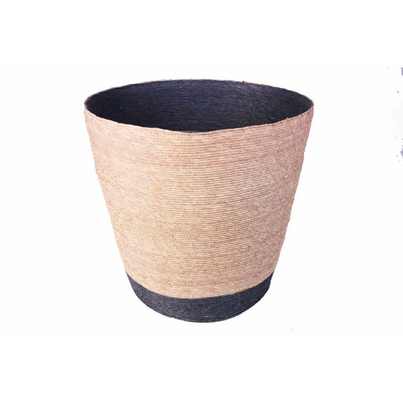 The Palm Leaf Bin Is A Stylish And Decorative Waste Paper Basket