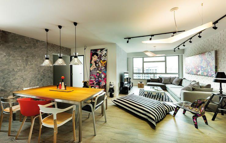 HDB BTO 4 Room 3D Design Ideas