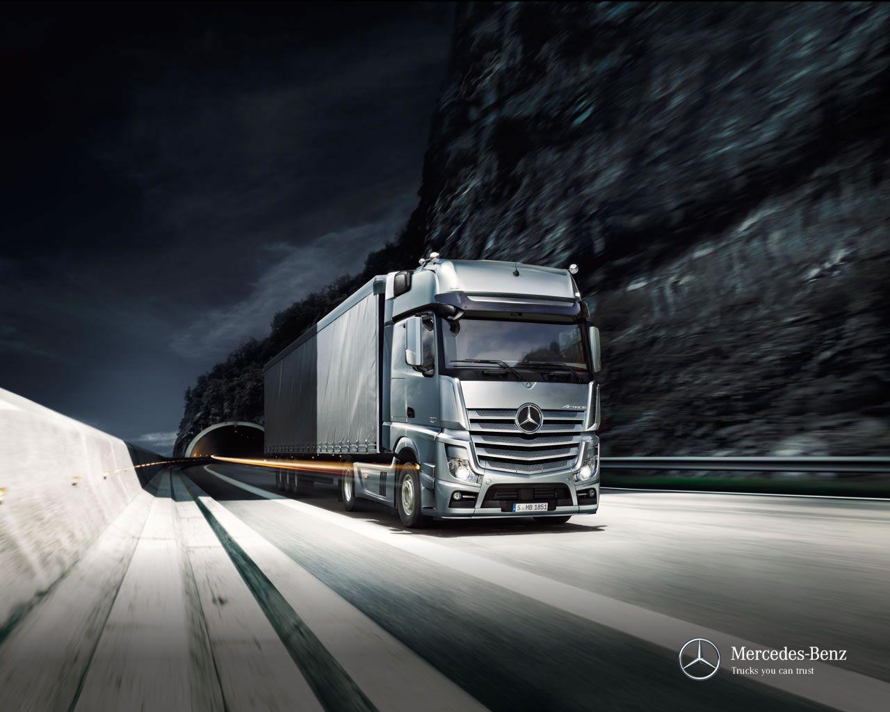 Actros Mercedes Truck Trucks Mercedes Benz Trucks Absolutely stunning truck wallpapers