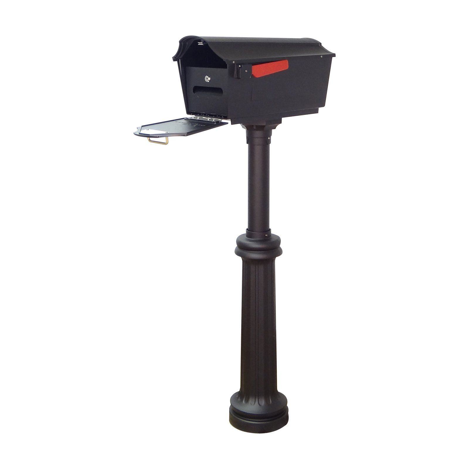 Special Lite Products Town Square Curbside Mailbox With Locking