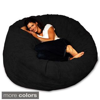 Sitting Point Faux Fur Extra Large Fluffy Bean Bag