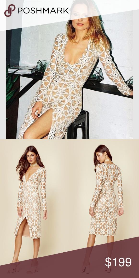 For Love And Lemons Metz Midi Dress Dresses Midi Dress Clothes Design