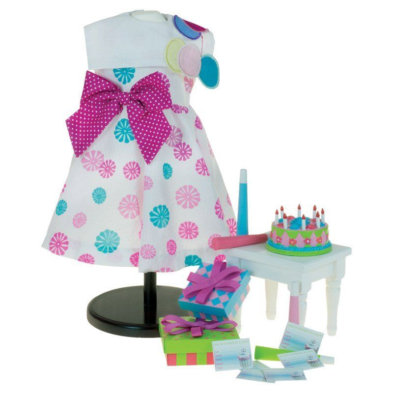 Laurent Doll Birthday Bash Outfit & Accessory Set for 18 in. Dolls - LDBBC&A