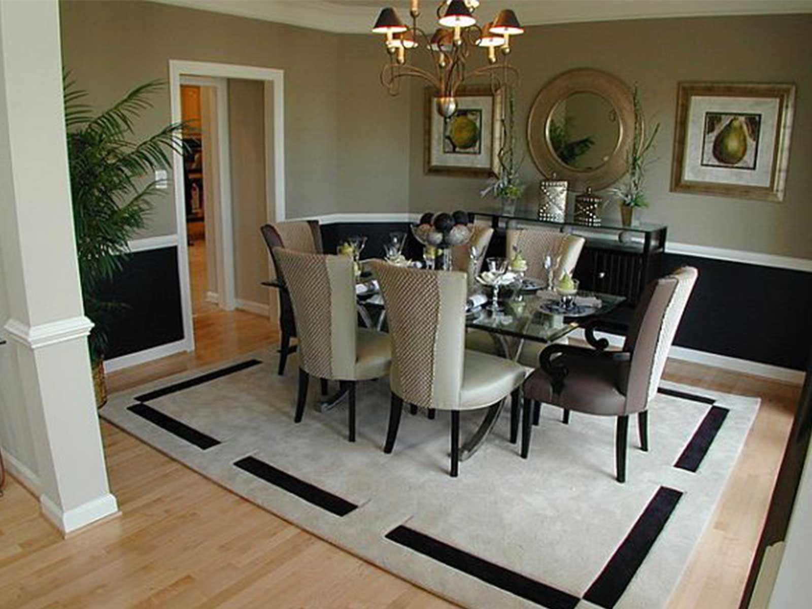 Beautiful Dining Room Area Rug Ideas Photos Home Improvement Modern Elegant Rooms Luxury Living