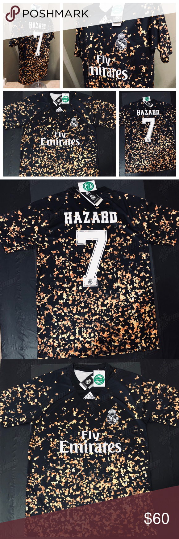 2020 Ea Sports Real Madrid Hazard 7 Soccer Jersey Real Madrid Cf 2019 2020 Season Just Released December 12 2019 L Soccer Jersey Ea Sports Real Madrid