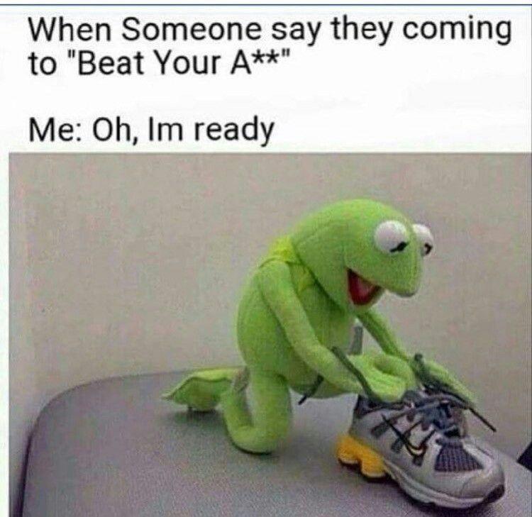 Oh I'm ready