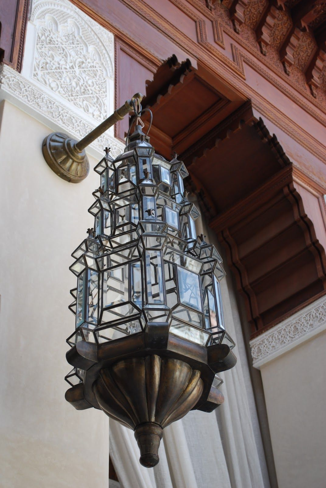 outdoor moroccan lighting. Outdoor Moroccan Style Lantern At A Hotel Lighting R
