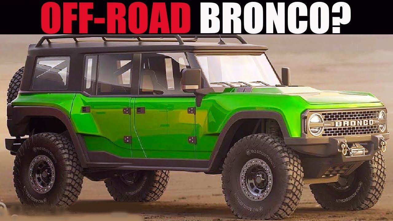 2021 Ford Bronco Off Road Trim Engines Prices Vs Jeep
