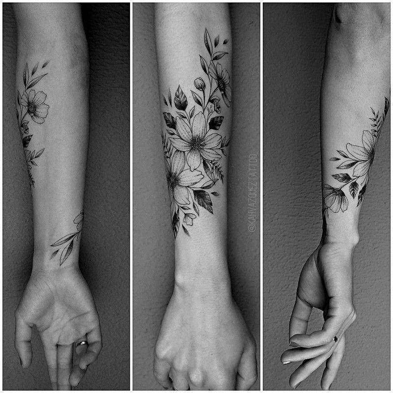 As tatuagens florais mais incríveis de todas! - Blog Tattoo2me