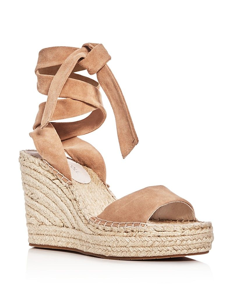 311f5a5fceb Kenneth Cole Odile Ankle Tie Espadrille Wedge Sandals