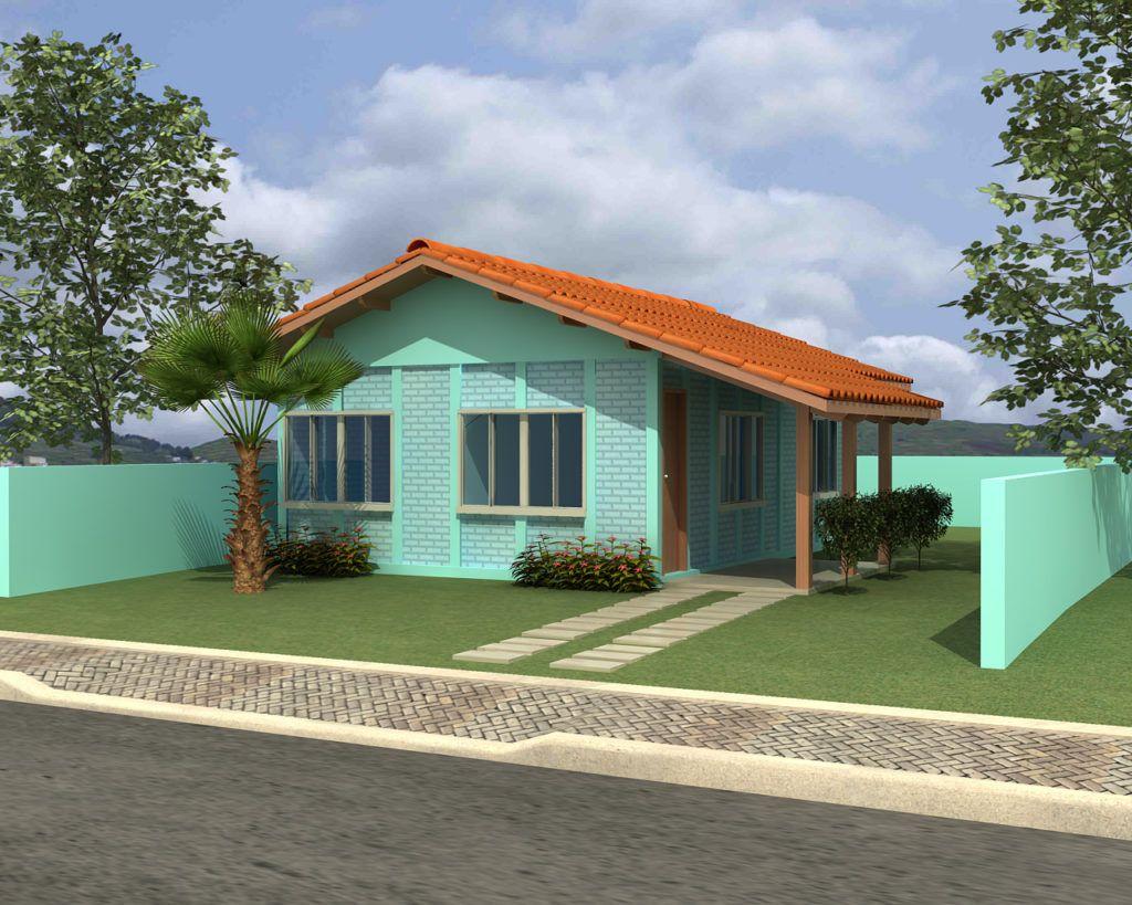 Casa Pré Fabricada De 54 Módulos Com Abrigo Base Forte Em