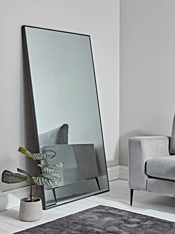 Oversized Antiqued Floor Mirror Antique Floor Mirror Floor Mirror Large Floor Mirror