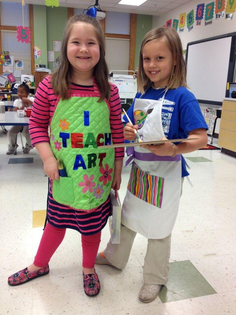Who DOESN'T want to be an art teacher? Art teacher