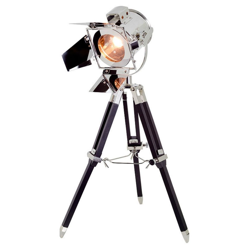 Floor Lamp Industrial Free Standing Light Vintage Tripod
