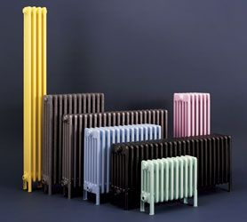 Nice Standing Radiator For When We Knock Through Kitchen/living Room Wall