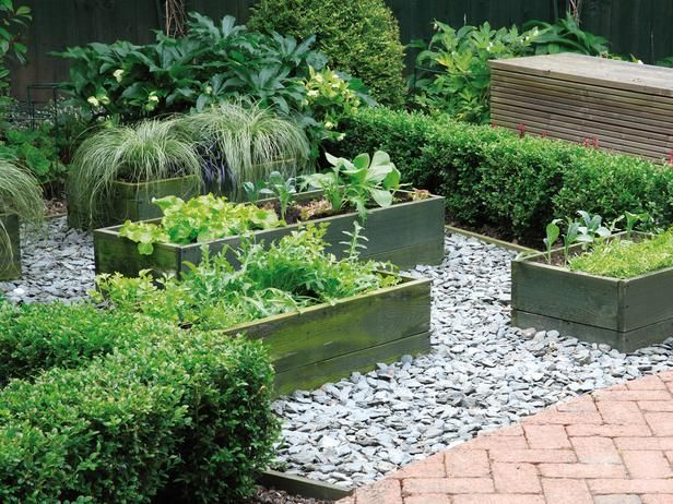 Raised Wooden Planters Make Crops Accessible