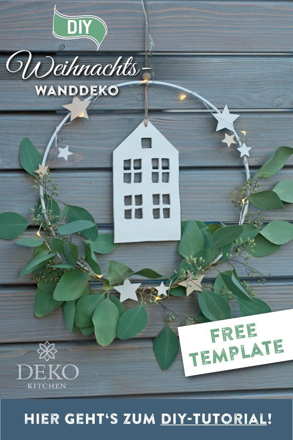 Photo of DIY do it yourself decoration. You can use this Christmas wall decoration … – Furnishing ideas