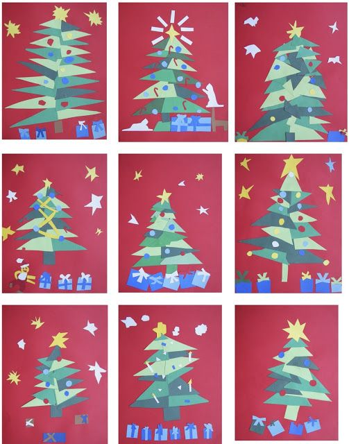 matisse christmas trees 4th 6th grade christmas art christmas tree art christmas tree crafts matisse christmas trees 4th 6th grade