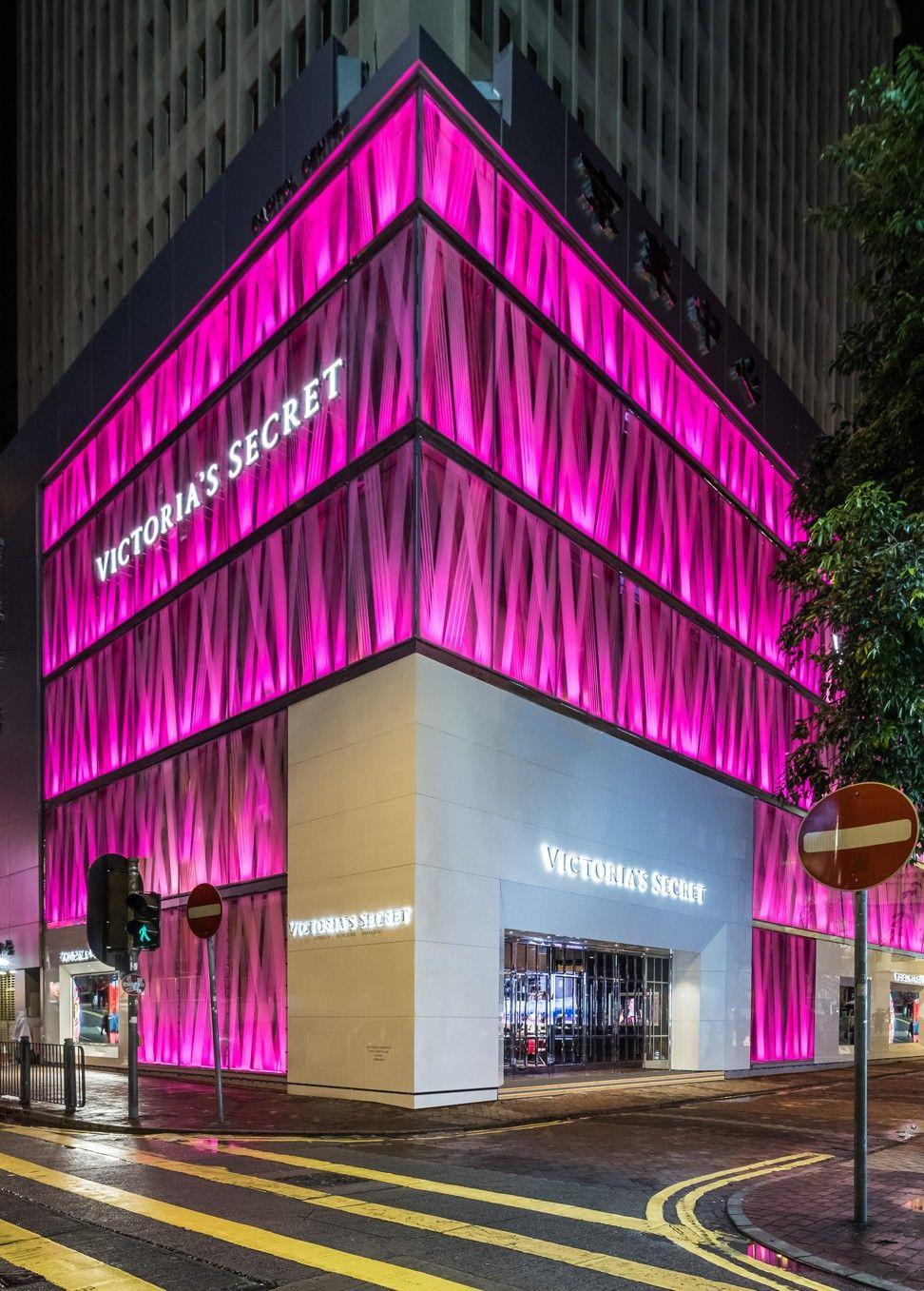 The New Victoria S Secret Store In Causeway Bay Victoria Secret Pink Store Victoria Secret Shops Victoria Secret Wallpaper