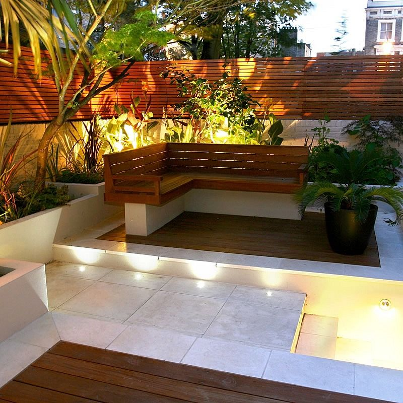 Small Gardens Ideas a fusion courtyard Find This Pin And More On Garden Small Garden Ideas