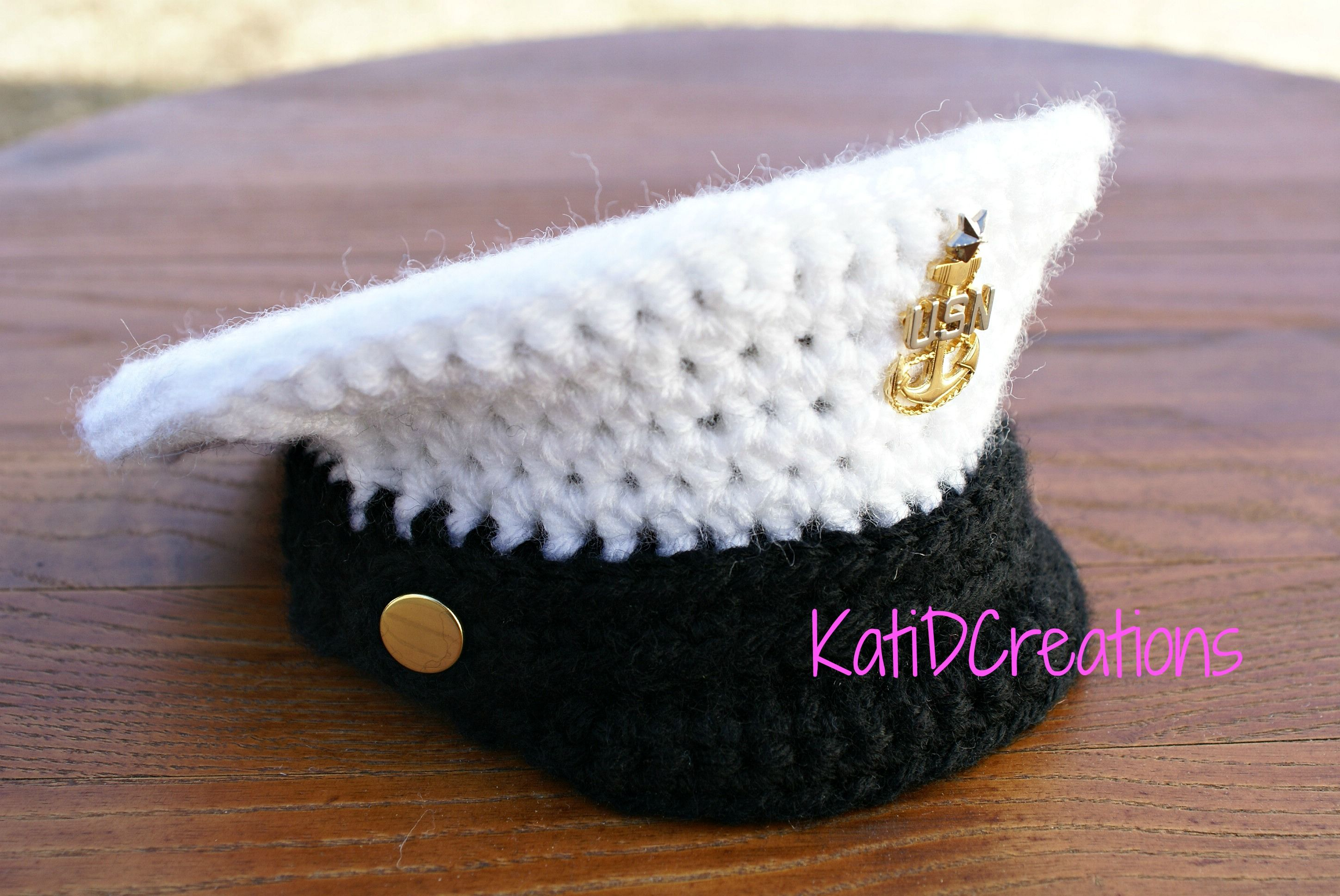 Crochet Military Inspired Hat – FREE Pattern!! | KatiDCreations ...