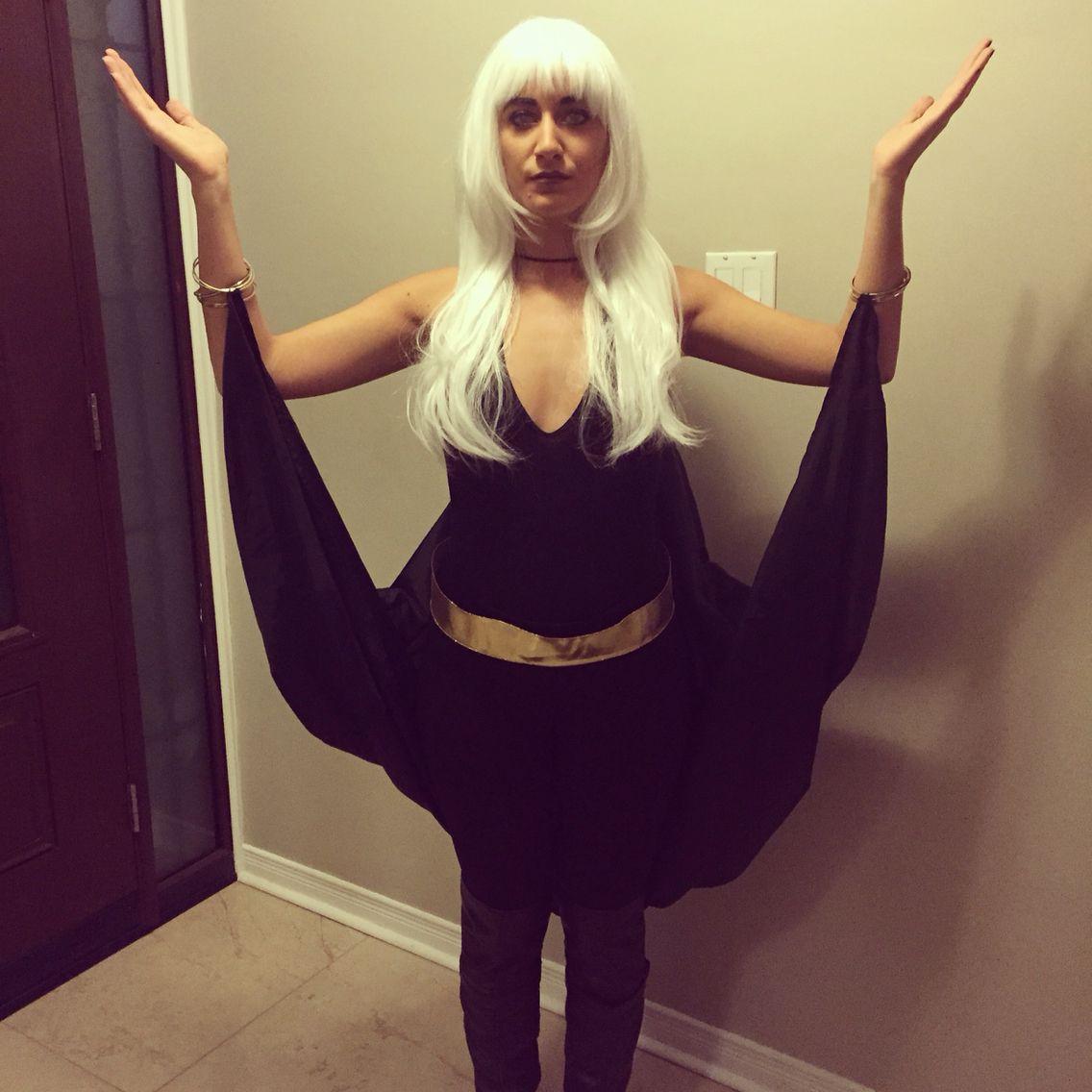 Storm Costume Xmen Storm Costume Diy Bodysuit Contacts
