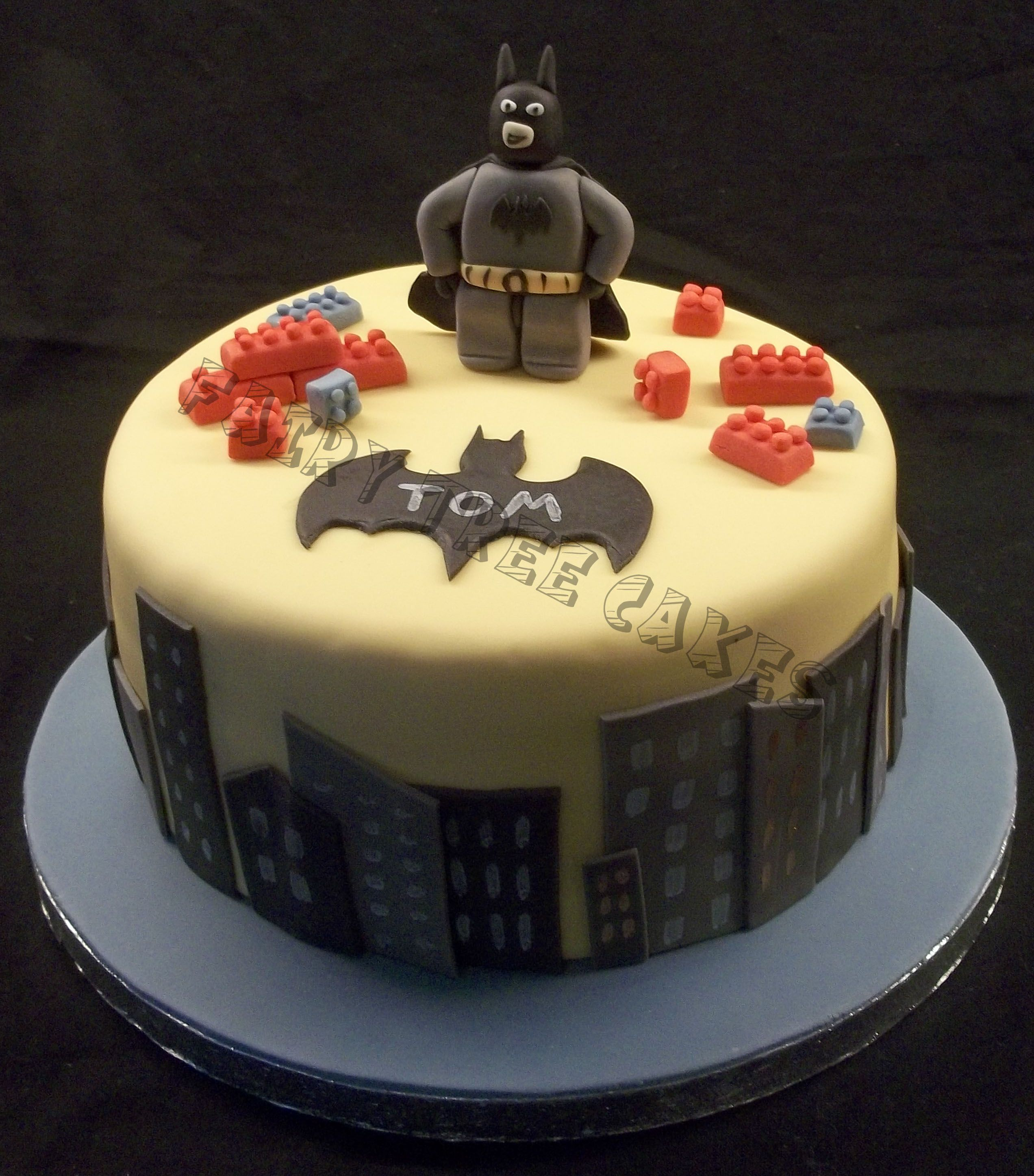 Lego Batman Cake | Fairy Tree Cakes | Pinterest | Lego batman cakes ...